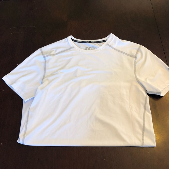 90fd1075 Russell Athletic Shirts | White Athletic Shirt | Poshmark